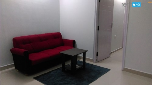 Furnished 1 BHK Apartment old airport rd
