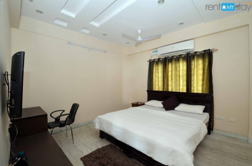 A Bright Apartment in Gachibowli