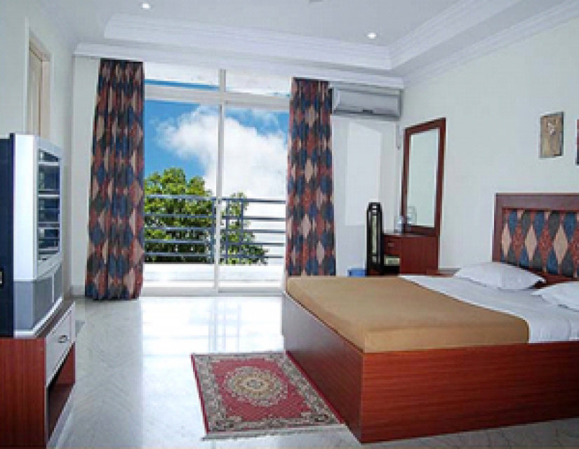 Master Bedroom in a Shared Aprt
