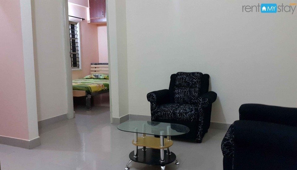 Furnished 1BHK Apartment near HSR BDA Complex