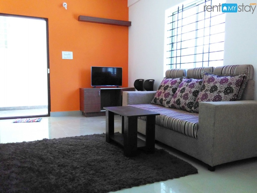 Furnished 2 BHK near Myntra Kudlu gate